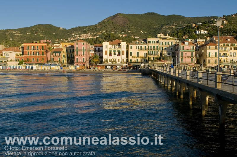 Alassio - the sea