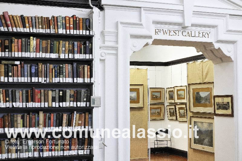 West Gallery and library