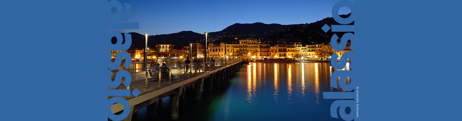 Alassio and its pier